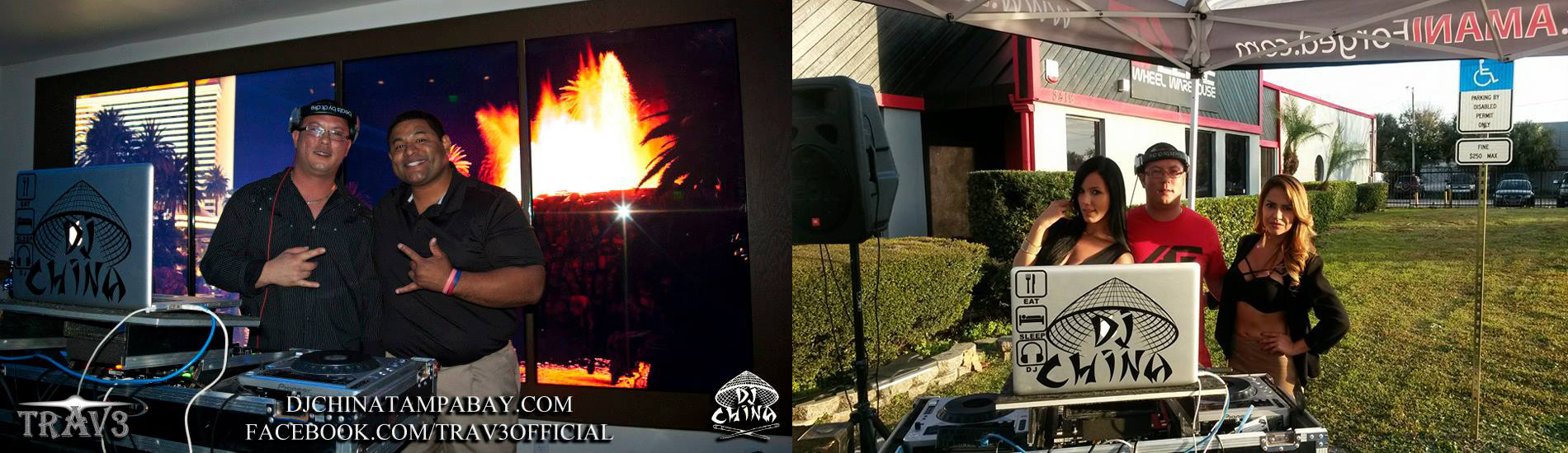 Outdoor DJ Entertainment